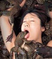 Neanche leccare le rane ci aiuta più.