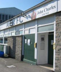 Il John Charles Lounge, il pub dell'Aberystwyth, la nostra terza squadra preferita