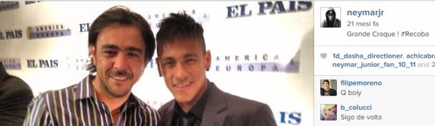 Chino Recoba, l'eroe di Neymar Jr